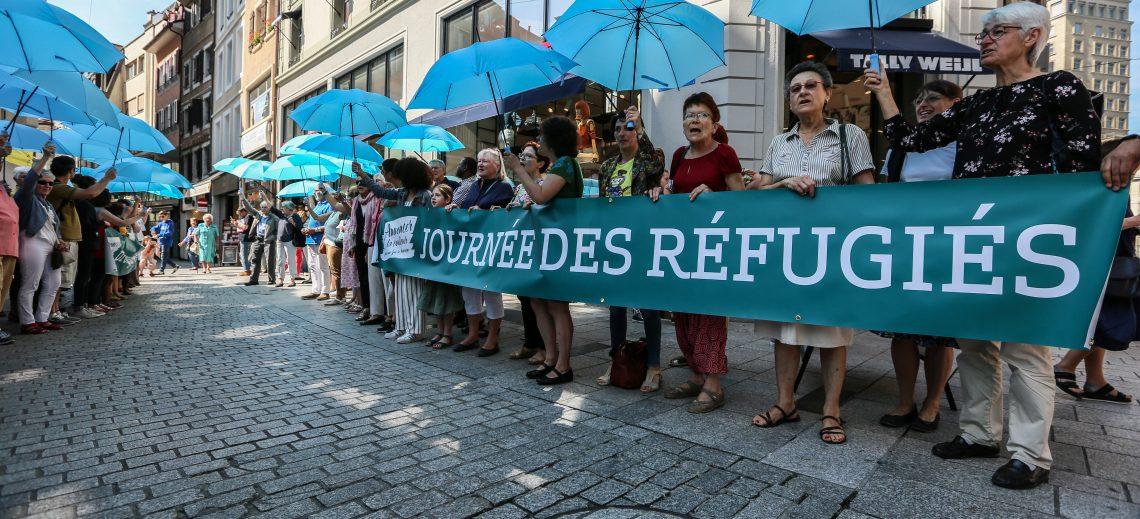 Journée des réfugiés : « Couloirs humanitaires » en chanson